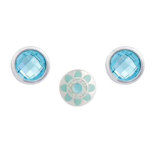 Aqua Anemone Dot Set